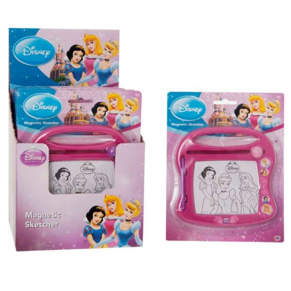 Disney Princess Mini Magnetic Drawing Board Sketcher Toy 3+ Years